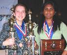 2006 Senior Champions: Emma Pardini and Subha Subramanian