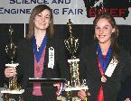 2007 Senior Champions: Hannah Dotseth and Megan Bartholomew