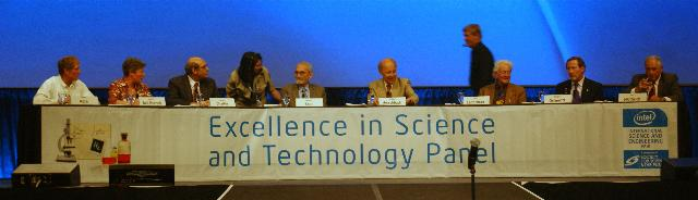 ISEF Panel 'Excellence in Science and Technology'